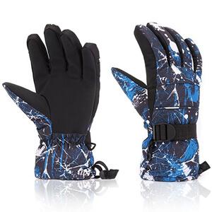 5. Yidomto Waterproof Warmest Winter Snow Gloves for Men