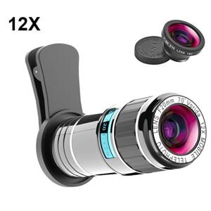 6. Vorida Cell Phone Camera Lens Kit