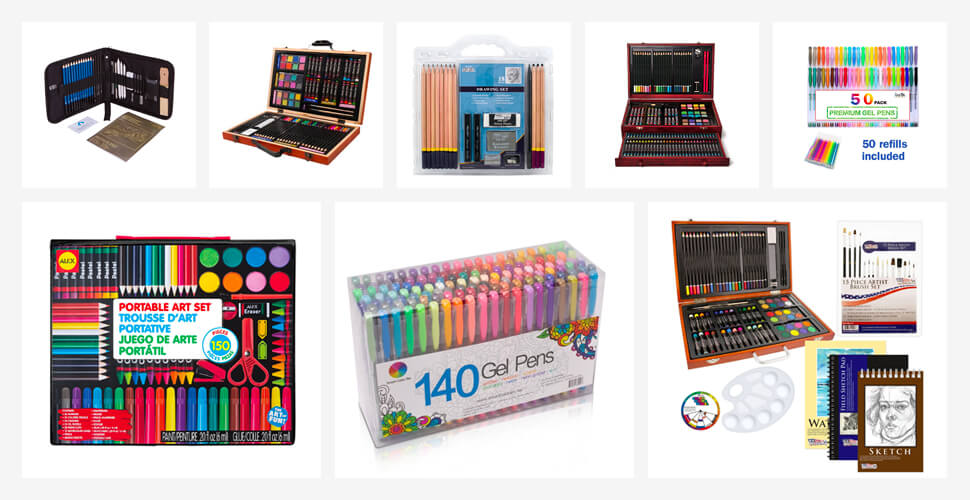 The 10 Best Artists Drawing Sets in 2018 Reviews