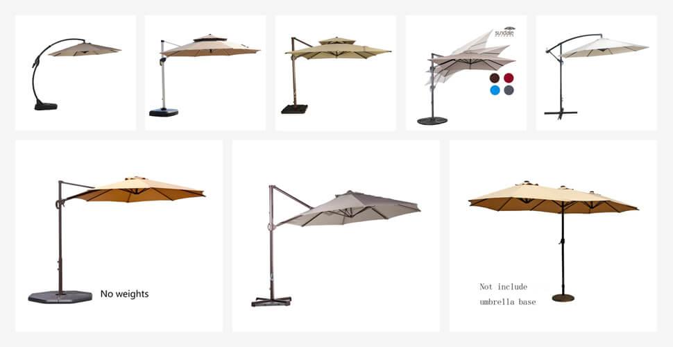 The 10 Best Offset Patio Umbrellas in 2018