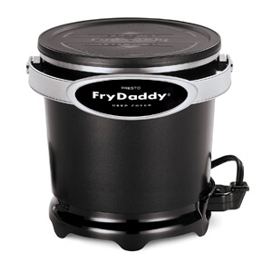 3 Presto 05420 FryDaddy Electric Deep Fryer