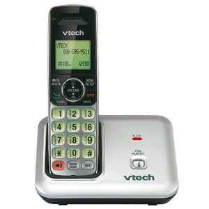 5 VTech CS6419 DECT 6.0 Expandable Cordless Phone