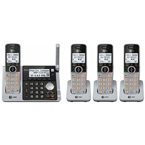 10 AT&T CL83484 DECT 6.0 Cordless Phone