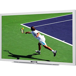 3. SUNBRITE 46-In. Outdoor TV Signature Series – White