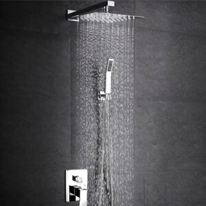6 SR SUN RISE SRSH-F5043 Bathroom Luxury Rain Mixer Shower