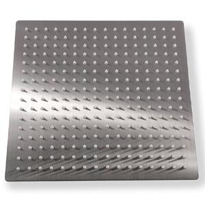 7 KiaRog® 12 Inch (12'') Rain Brushed Shower Head