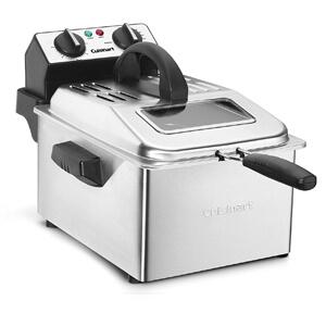 1 Cuisinart CDF-200 Deep Fryer, 4 quart, Stainless Steel