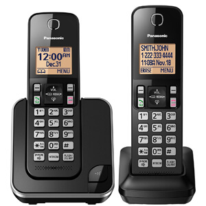 1 Panasonic KX-TGC352B Expandable Cordless Phone