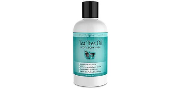1. Antifungal Tea Tree Oil Body Wash