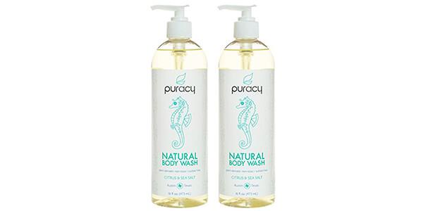 3. Puracy Natural Body Wash
