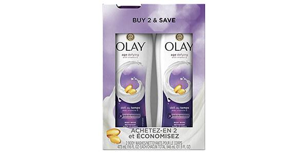 6. Olay Body Wash