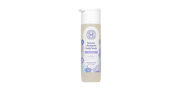 7. Honest Calming Lavender Hypoallergenic Shampoo and Body Wash