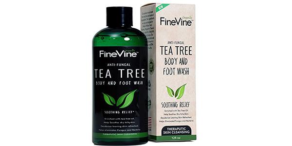 9. Antifungal Tea Tree Oil Body Wash