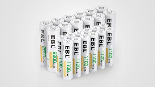 Top 10 Best Rechargeable Lithium Batteries in 2019 Reviews