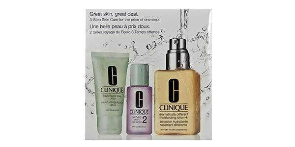 Clinique 3 Piece 3 Step Skin Care