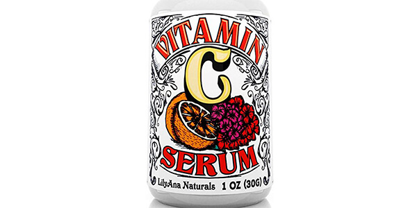 Vitamin C Serum with Hyaluronic Acid for Face and Eyes