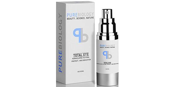 "Pure Biology ""Total Eye"" Anti Aging Eye Cream"
