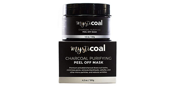 Mysticoal Premium Charcoal Peel Off Mask